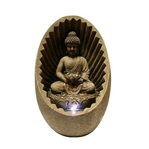 Buddha Fountain With Led Light in US - 1