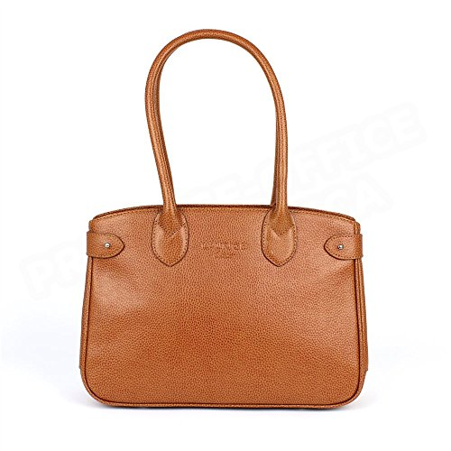 Sac Cabas Shopping Paris cuir Gold Beaubourg