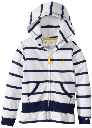 NAUTICA Girls Stripe Fleece Hoodie