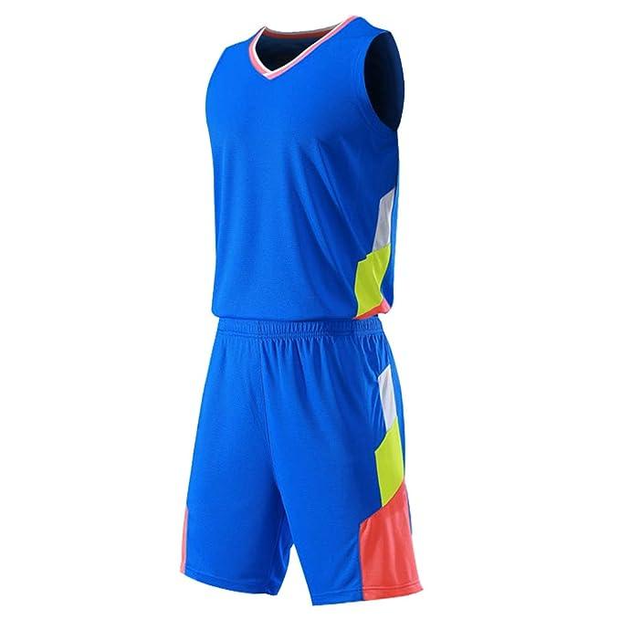 Muslcealive Uniforme de Baloncesto Camiseta de Tirantes Deportiva de Basket Jersey para Hombre: Amazon.es: Ropa y accesorios