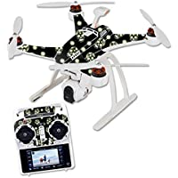 Skin For Blade Chroma Quadcopter – Nighttime Skulls | MightySkins Protective, Durable, and Unique Vinyl Decal wrap cover | Easy To Apply, Remove, and Change Styles | Made in the USA