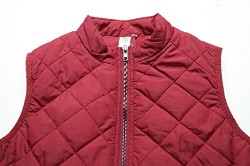 MISS MOLY Women's Zip up Stand Collar Lightweight Quilted Gilets Packable Padded Vest w 2 Side Zip Pockets S by MISS MOLY (Image #5)