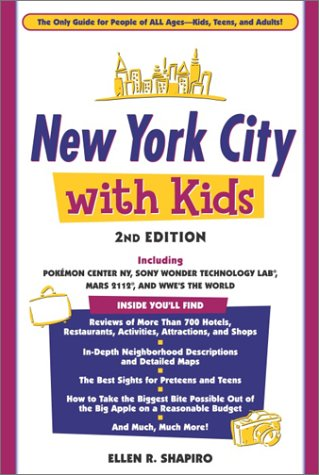 New York City With Kids 2nd Edition  Travel Guide