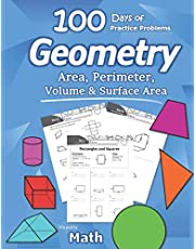 Humble Math - Area, Perimeter, Volume, & Surface Area: Geometry for Beginners - Workbook with Answer Key (KS2 KS3 Maths) Elementary, Middle School, High School Math – Geometry for Kids