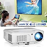 Updated LED Projector Mini Portable Multimedia 1080P Full HD Home Theater High Brightness