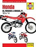 Honda  XL/XR600R & XR650L/R  1983 - 2014 Repair Manual (Haynes Repair Manual)