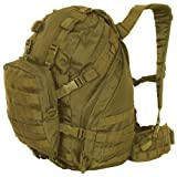 Coyote Brown Advanced Expeditionary Pack – 20 x 12 x 9 Inches, MOLLE Compatible Backpack Bag, Outdoor Stuffs