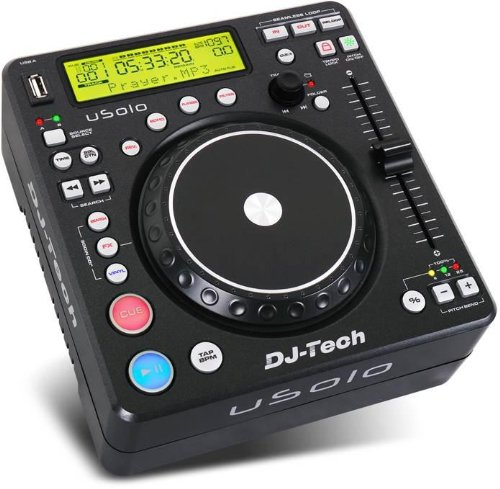 Compact Usb Media Player With Dsp Effects DJ USOLO GE5107