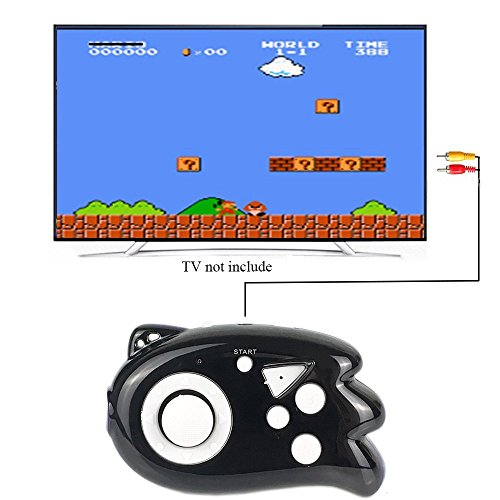 Mini Kid Games - JJFUN Mini TV Handheld Game Console Player for Kids,Connect and Play 89 in 1 Retro Classic Games,Old School Arcade Style Plug & Play Video Games Controller for Children Boys Girls 4-12 Years Old-BLACK
