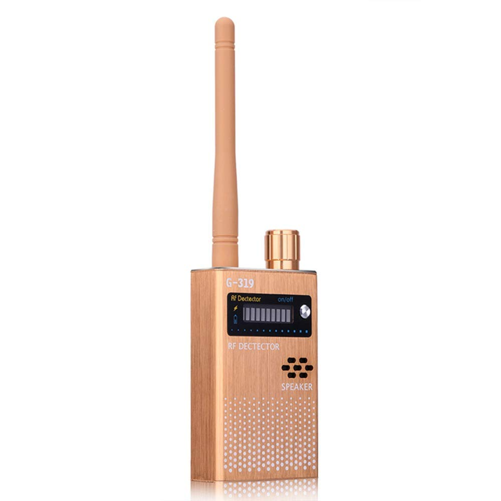 @ Anti-Spy Wireless RF Signal Detector Bug GPS Camera Signal Detector?for Hidden Camera GSM Listening Device GPS Radar Radio Scanner Wireless Signal Device Finder