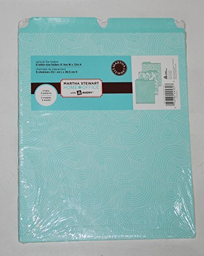 Martha Stewart Home Office with Avery® Vertical File Folders