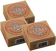 Sex Wax Quick Humps Coconut 3 Pack (Choose Temperature)