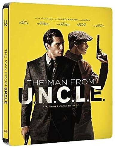 Operación U.N.C.L.E. - Edición Metálica [Blu-ray]: Amazon.es ...