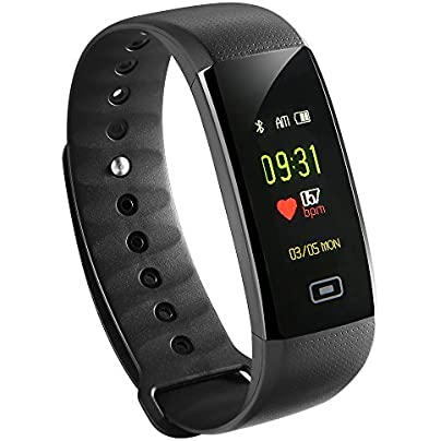 Wristband bracelet siroflo Activity Tracker Pedometer Heart Rate Monitor Sport Watch Waterproof IP67 Estimated Price -