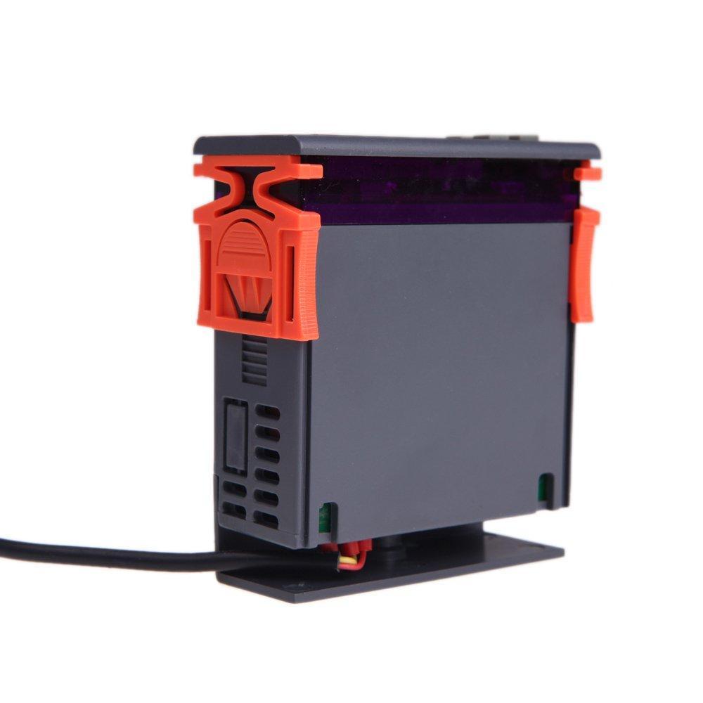 sypure (TM) 10A 12V Mini Digital Luftfeuchtigkeit Control Controller Messbereich 1% ~ 99% mit Sensor
