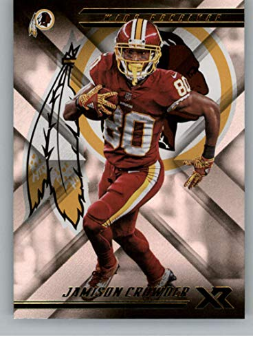 2018 Panini Xr Football #59 Jamison Crowder Washington Redskins Official NFL Trading Card ()
