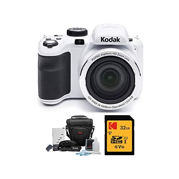 Kodak PIXPRO Astro Zoom AZ421 16 MP Digital Camera with 42X Opitcal Zoom and 3″ LCD Screen