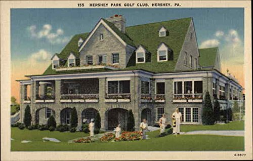 Hershey Park Golf Club Hershey, Pennsylvania Original Vintage Postcard by CardCow Vintage Postcards