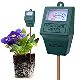 kuman S10 Soil Moisture Sensor Meter, Hygrometer Soil Water Monitor for Garden, Farm, Lawn Plants Indoor & Outdoor(No Battery Needed) KP02 (S10 Soil Moisture Sensor Meter)