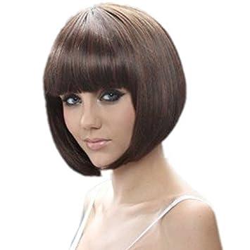 Amazon Com Royalstyle 11 8 30cm Short Hair Natural As Real