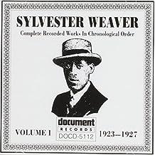 Sylvester Weaver 1 1923-1927