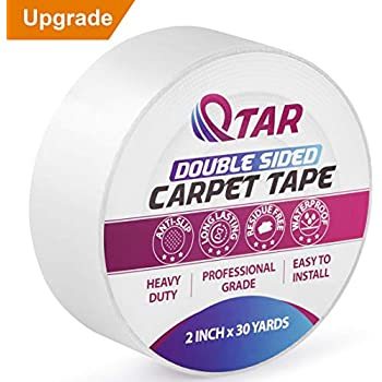 Xfasten Double Sided Tape Carpet Tape Removable 2 Inches