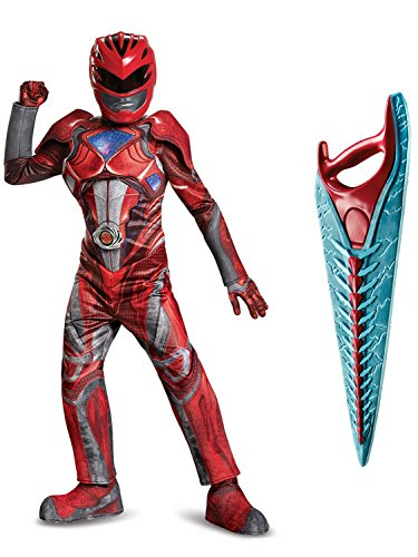 Power Rangers Movie Red Ranger Children's Prestige Costume Kit M -