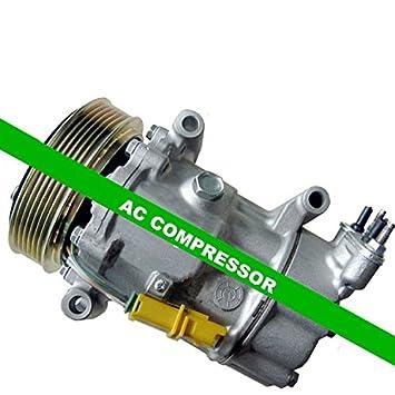 GOWE Auto Compresor De Aire Para sd6 V12 Sanden buen AUTO Compresor De Aire Para Coche