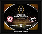 national championship football - Alabama Crimson Tide vs. Georgia Bulldogs 10.5