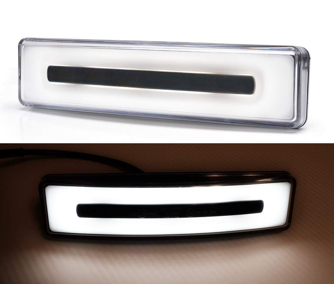 2x front position white LED lights roof cabin marker for SCANIA 24V e-marked