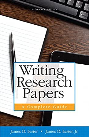 writing research papers a complete guide 10th edition