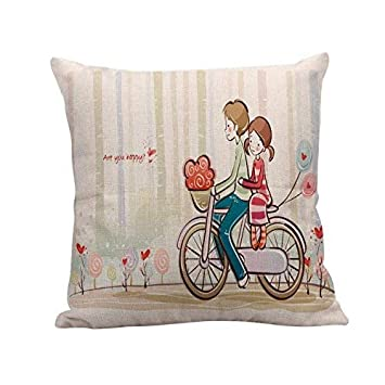 Amazon.com: UMarsDeal Pillow Sofa Waist Throw Cushion Home ...