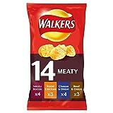 Walkers Crisps - Meaty Variety (26x25g)