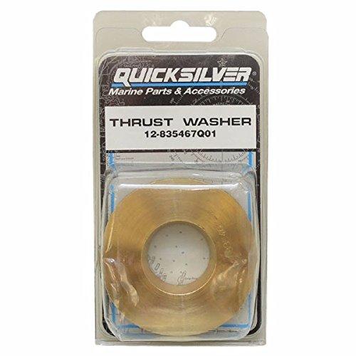Quicksilver Propeller Washer (Mercury Quicksilver Boat Thrust Washer 12-835467Q01   Brass 2 5/8 Inch)