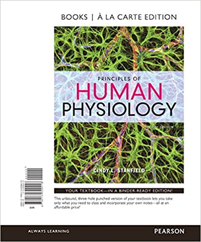 Amazon principles of human physiology books a la carte edition principles of human physiology books a la carte edition 6th edition 6th edition fandeluxe Image collections
