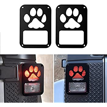 Amazon Com Diytunings Dog Paw Tail Lamp Tail Light Cover