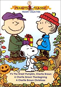 Peanuts Holiday Collection (A Charlie Brown Christmas/A Charlie Brown Thanksgiving/It's the Great Pumpkin, Charlie Brown)