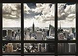 New York Window Giant Poster 55x39