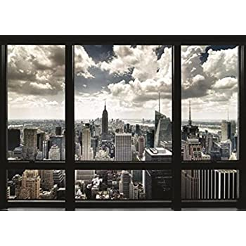 new york window giant poster 55x39