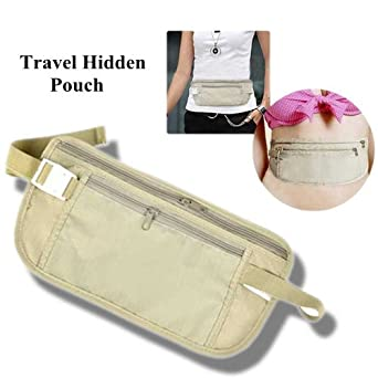 d9d6bbe2b673 Travel Pouch Hidden Compact Security Money Waist Belt
