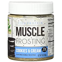 You Fresh Naturals - High Protein Muscle Frosting Cookies & Cream - 10 oz.