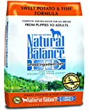 Natural Balance L.I.D. Limited Ingredient Diets Sweet Potato & Fish Formula Dry Dog Food, 13-Pound