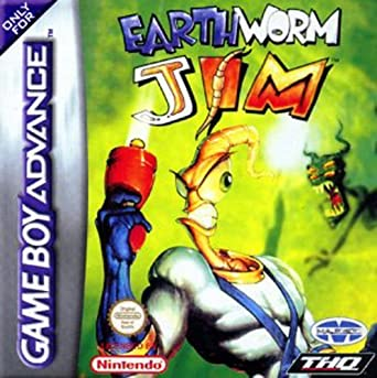 Amazon Com Earthworm Jim Gba By Thq Video Games