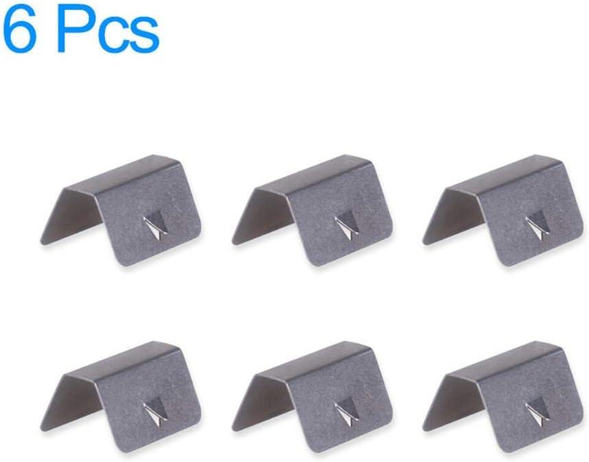 8X Clips Attache D/éflecteur de Pluie De Vent Canal Piece