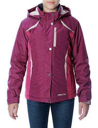 Arctix Girls Frost Insulated Jacket, Plum, X-Small