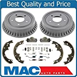 Mac Auto Parts 145327 Astro Safari Van (2) Brake Drum Drums & Shoes B5 H71 Wheel Cyl
