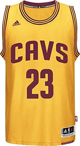 new style ca22c 3ba41 adidas A61199 NBA Cleveland Cavaliers International Swingman Jersey #23  LeBron James