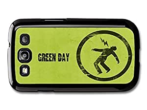 AMAF ? Accessories Green Day Punk Rock Band Green Logo Lighting case for Samsung Galaxy S3