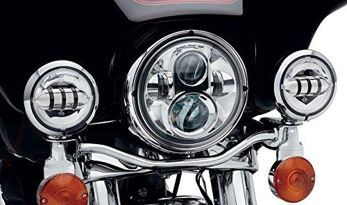 Sunpie 7 Inch Chrome Harley Daymaker LED Headlight+ 2x 4-1/2