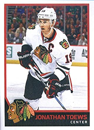 2017-18 Panini Stickers  289 Jonathan Toews Chicago Blackhawks Hockey  Sticker 114f9abff